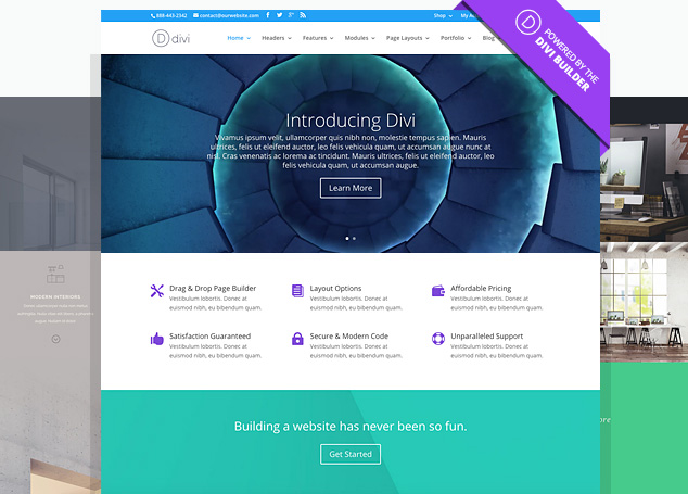 Best WordPress themes for eCommerce, divi themes
