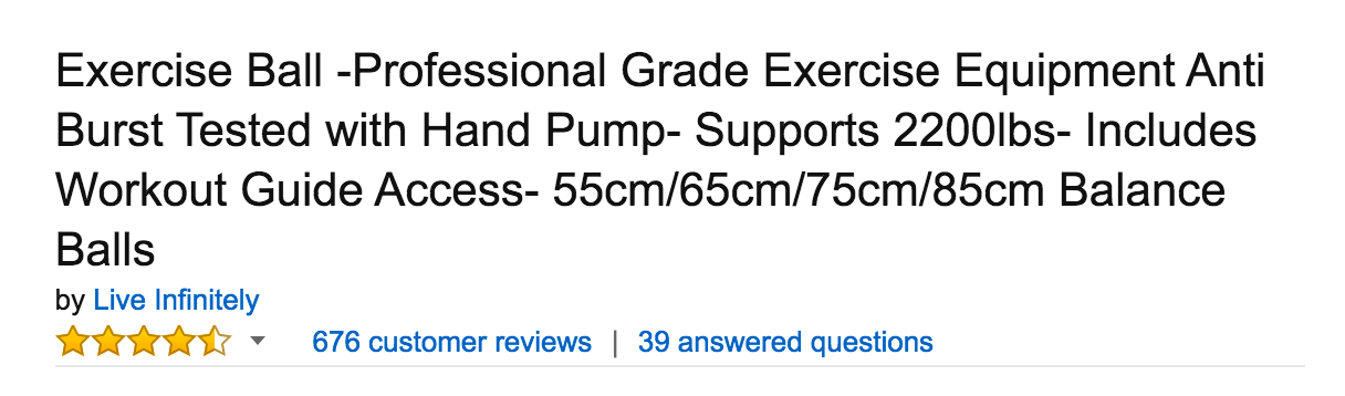 good amazon product title_ sell on Amazon