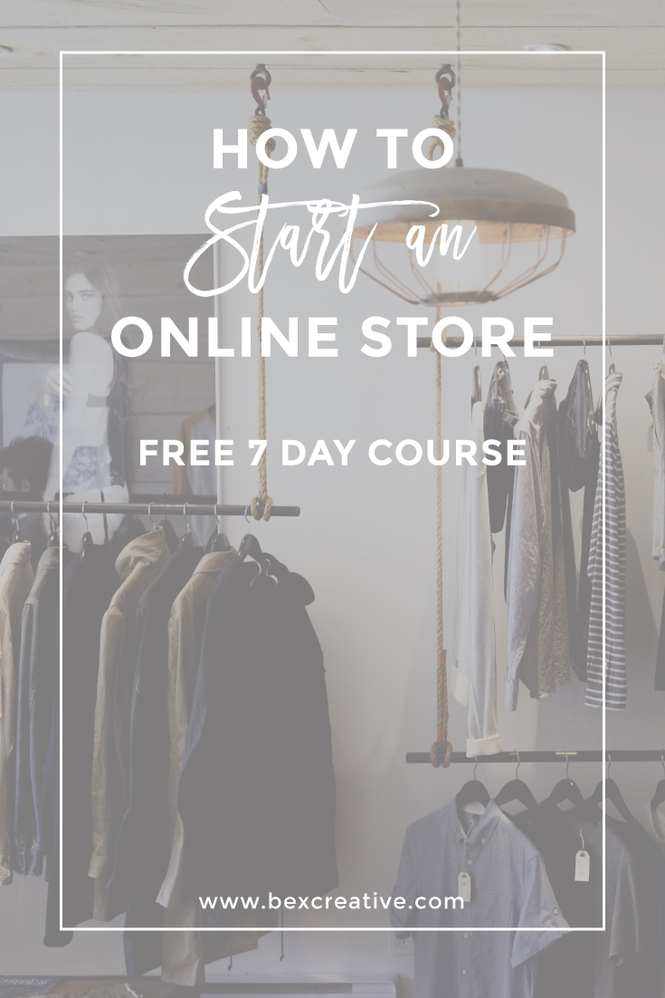 how to start an online store free course