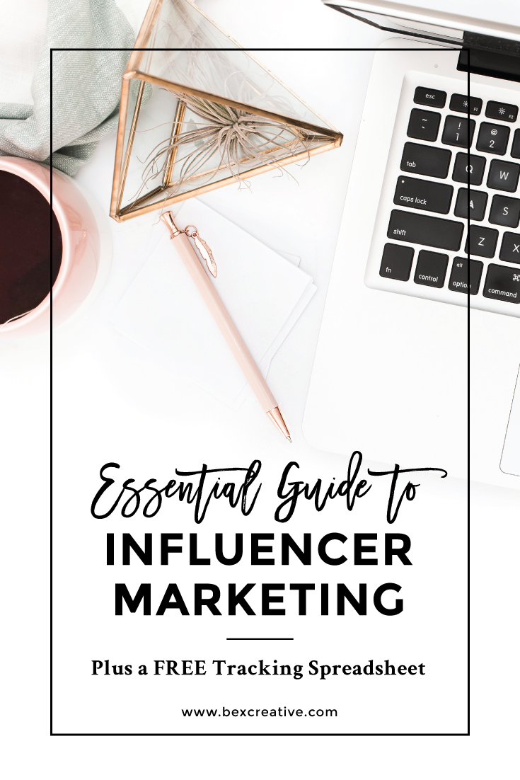 Essential Guide to Influencer Marketing plus a FREE Tracking Spreadsheet