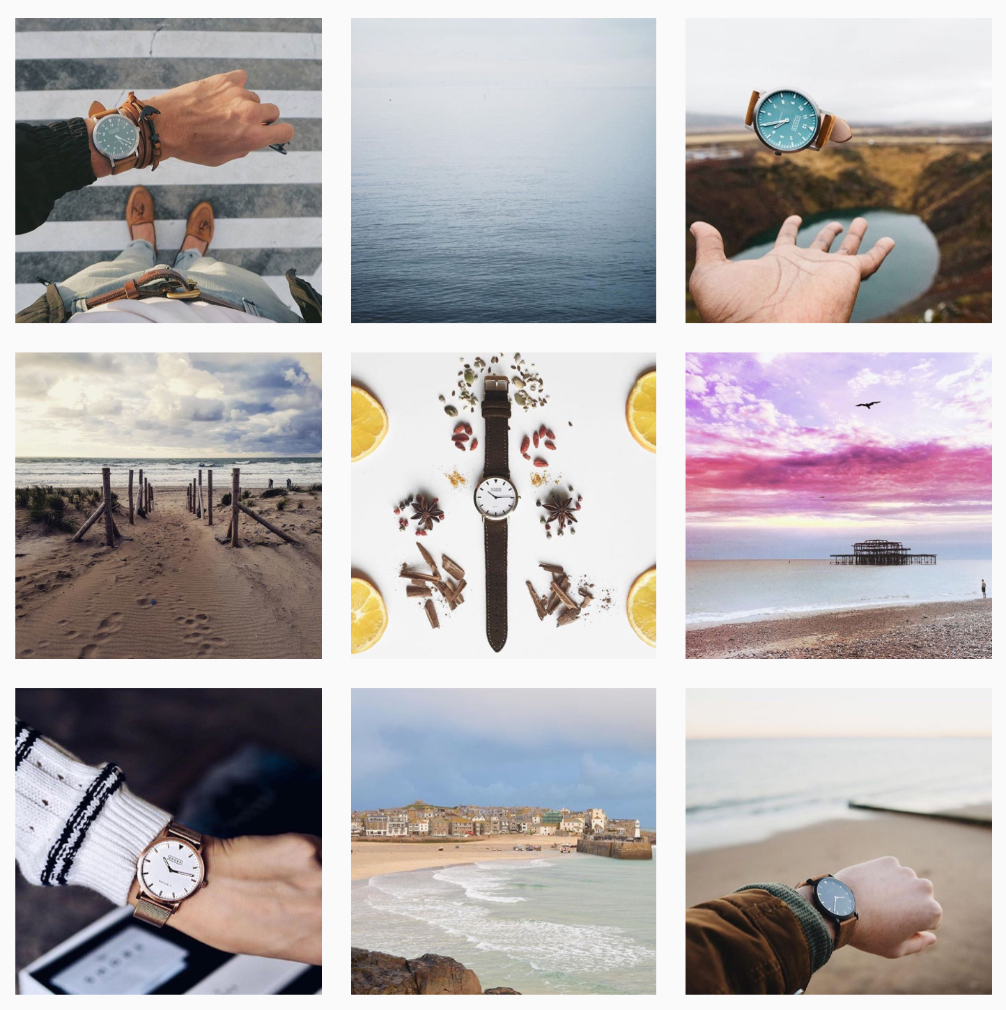 Cohesive theme Instagram. Instagram marketing