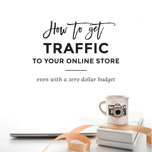 how to get traffic to your online store